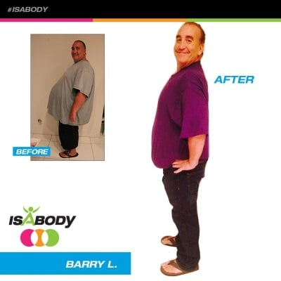 IsaBody Challenge Barry L