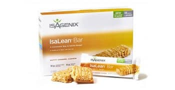 IsaLean Bar Nutty Caramel Cashew